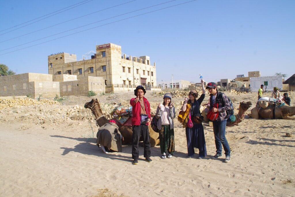 クーリ村 キャメルサファリ タール砂漠 ラクダ