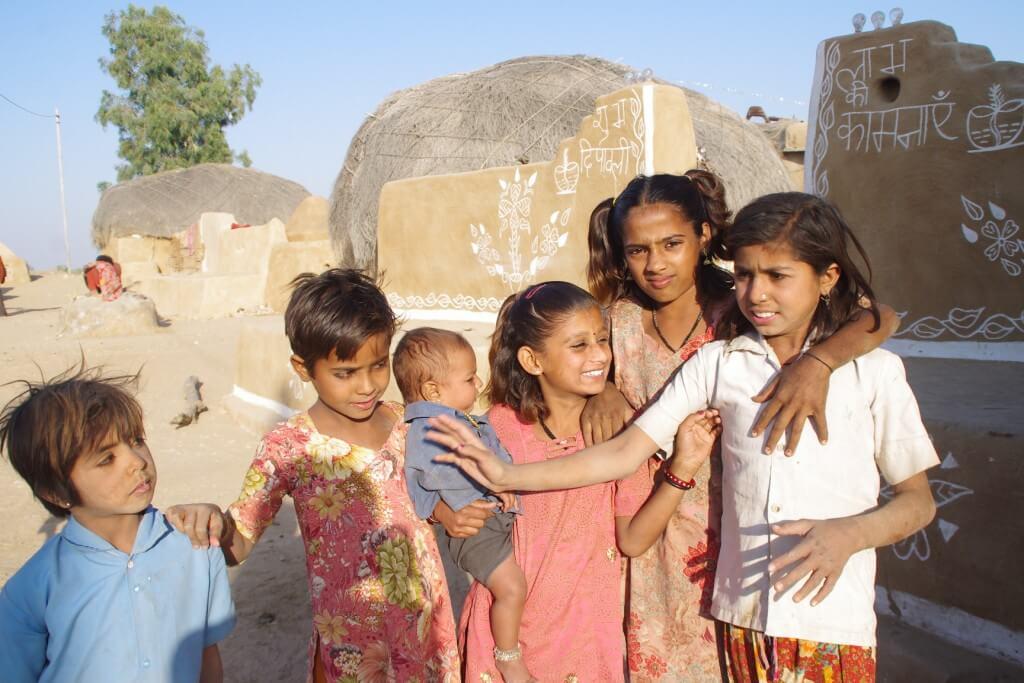 タール砂漠 村