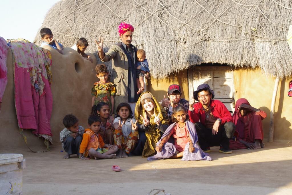 タール砂漠 村の子供達