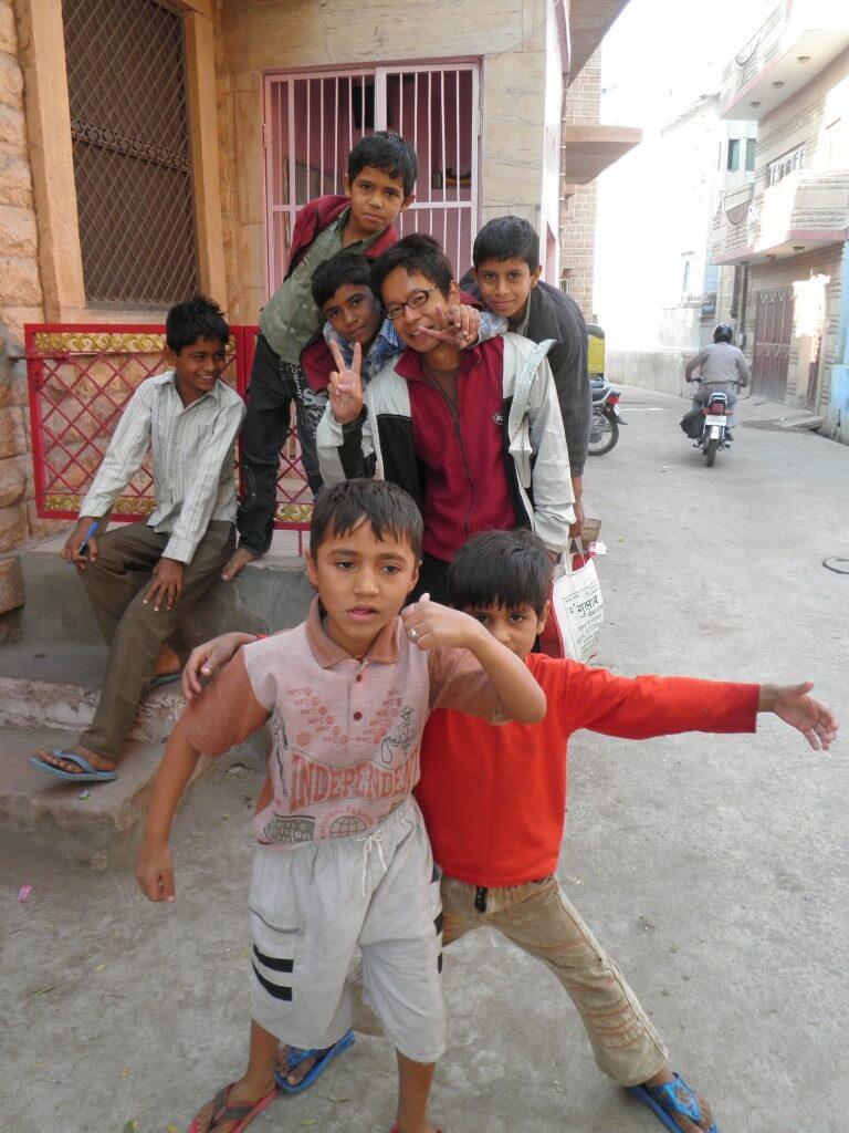 ジョードプル インド人 子供