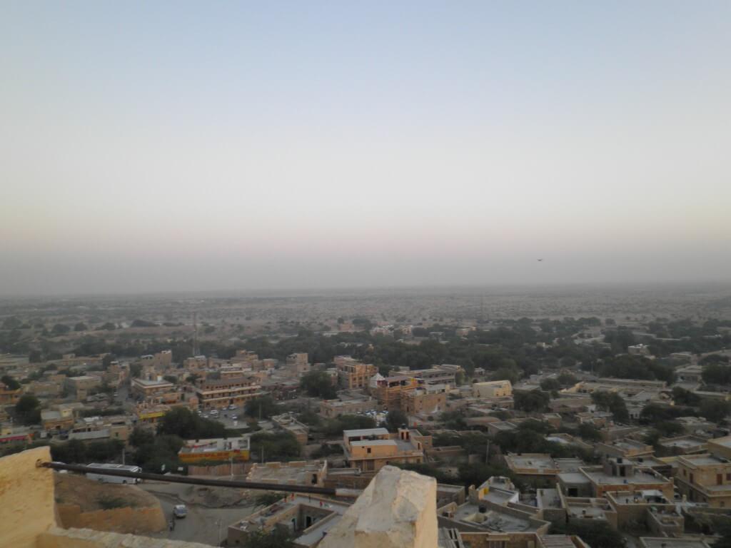 ジャイサルメール 砂漠の町