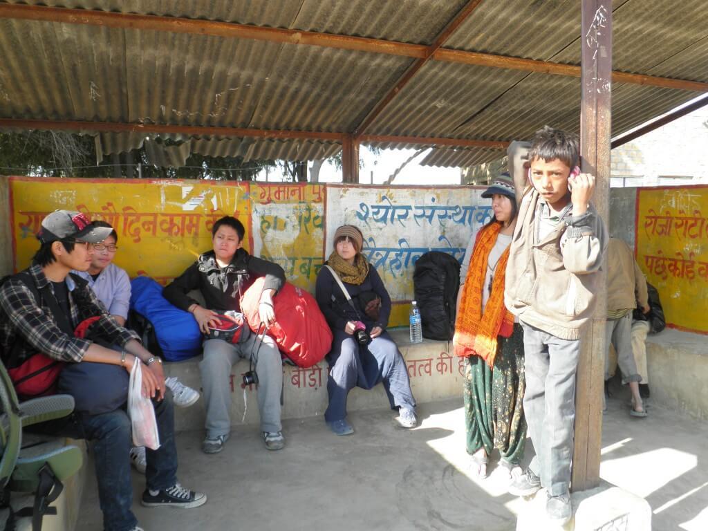 クーリー村 ジャイサルメール バス