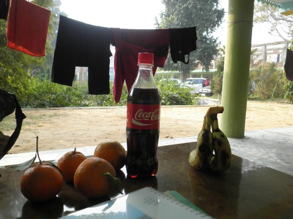 今日のコーラ インドで英語勉強