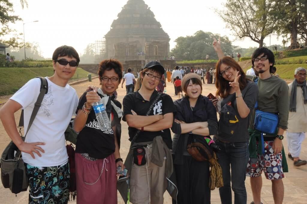 コナーラク スーリヤ寺院 日本人で