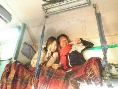 今日の美女 電車で仲良くなった韓国人 Heeju