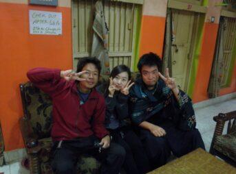 今日の美女 ババゲストハウスであった韓国人 ユナ
