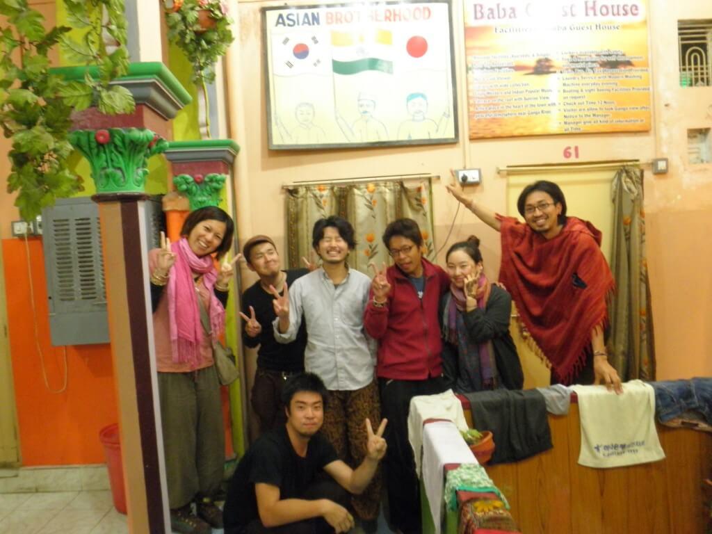 ババ・ゲストハウスは日本人、韓国人が多いから街中でよく鉢合わせする(笑)