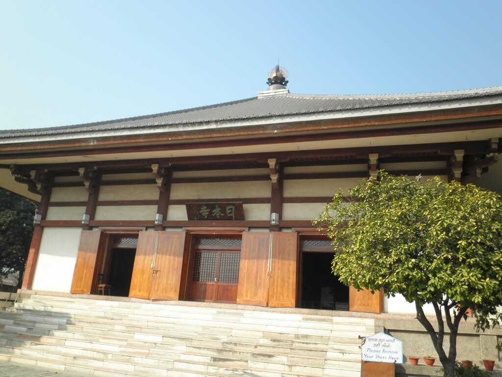 ブッダガヤ 日本寺 図書館 診療所