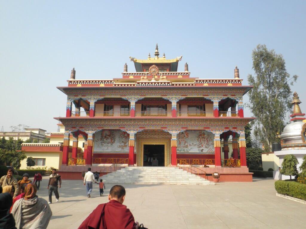 ブッダガヤ チベット寺