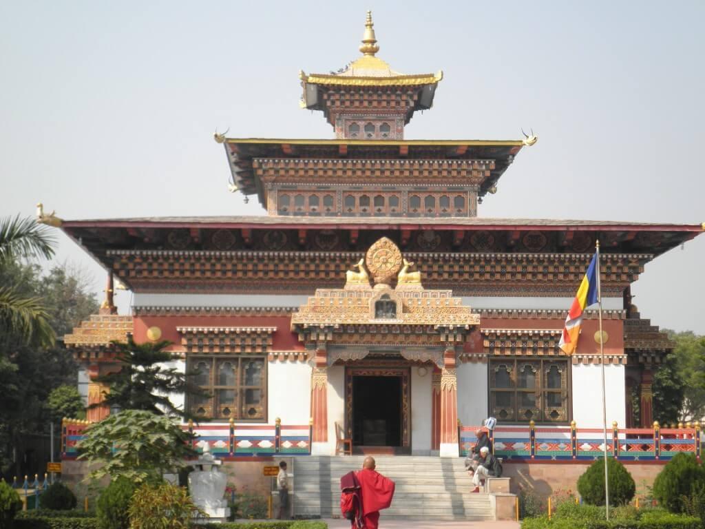 ブッダガヤ スリランカ寺