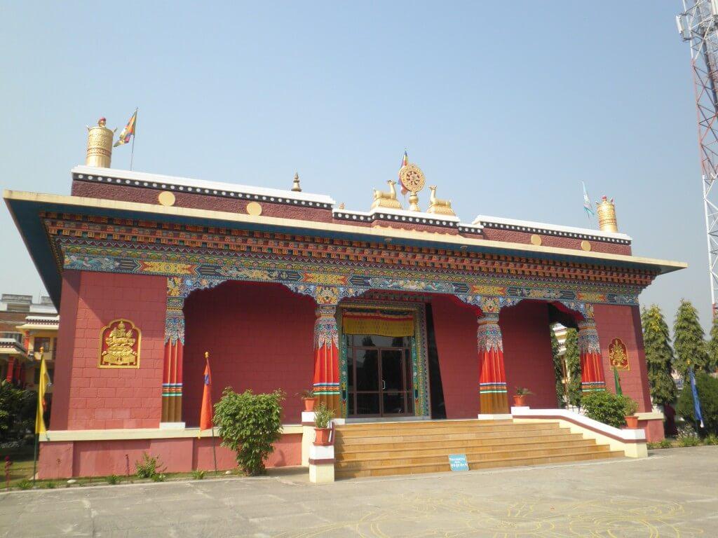 ブッダガヤ 中国寺