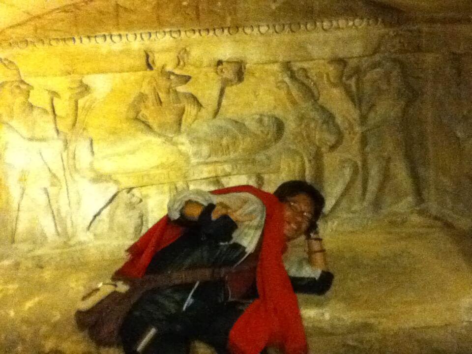 コームッシュアーのカタコンベ  アレクサンドリア ミイラ 考古学博物館