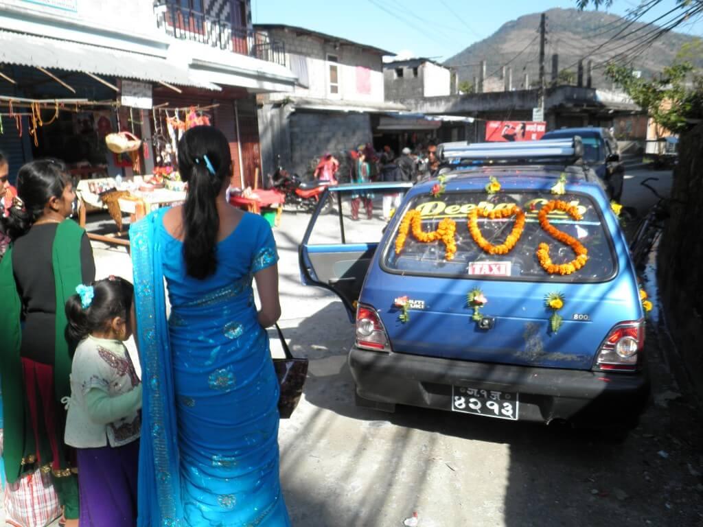 ポカラ レンタルサイクル ネパール結婚式