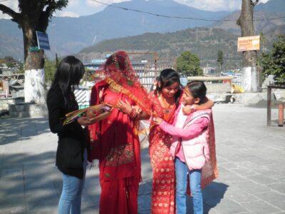 今日の美女 ネパールのお嫁さん