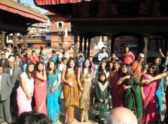 今日の美女 ネパールのかわいい女の子