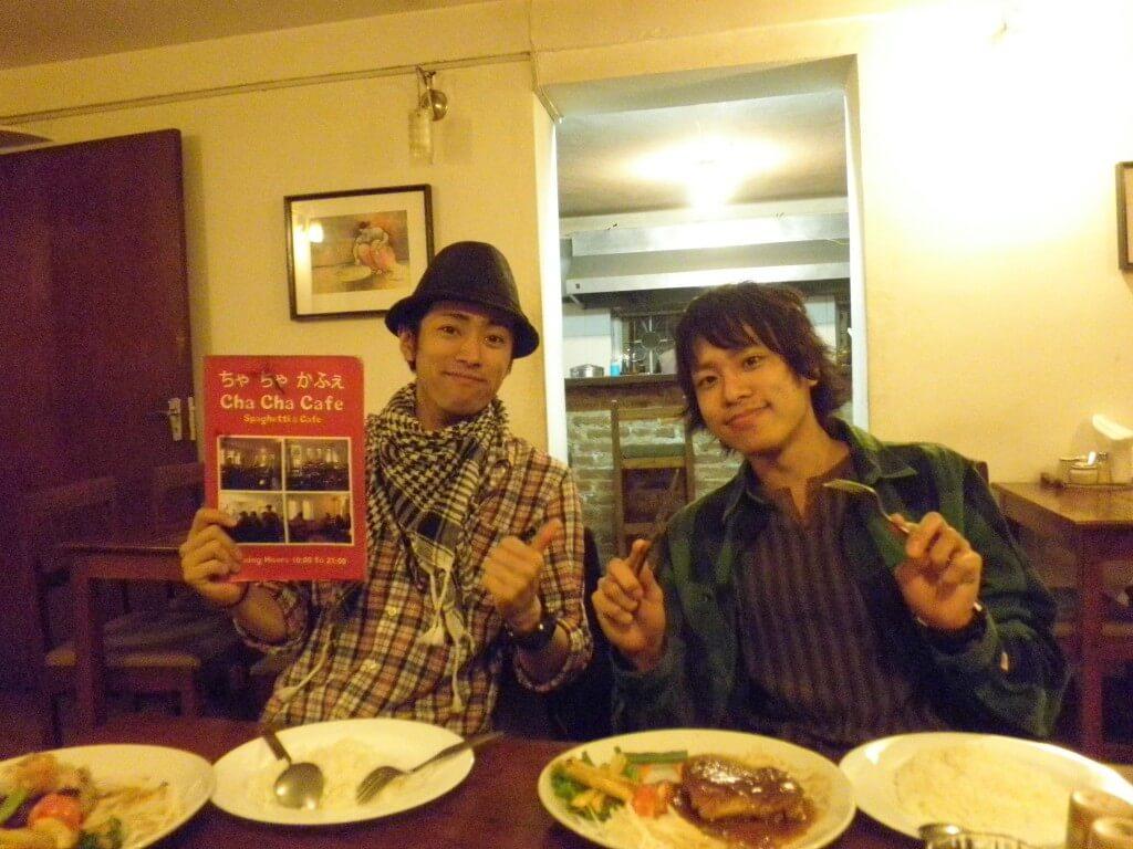 ちゃちゃカフェ カトマンズ 日本食 ネパール