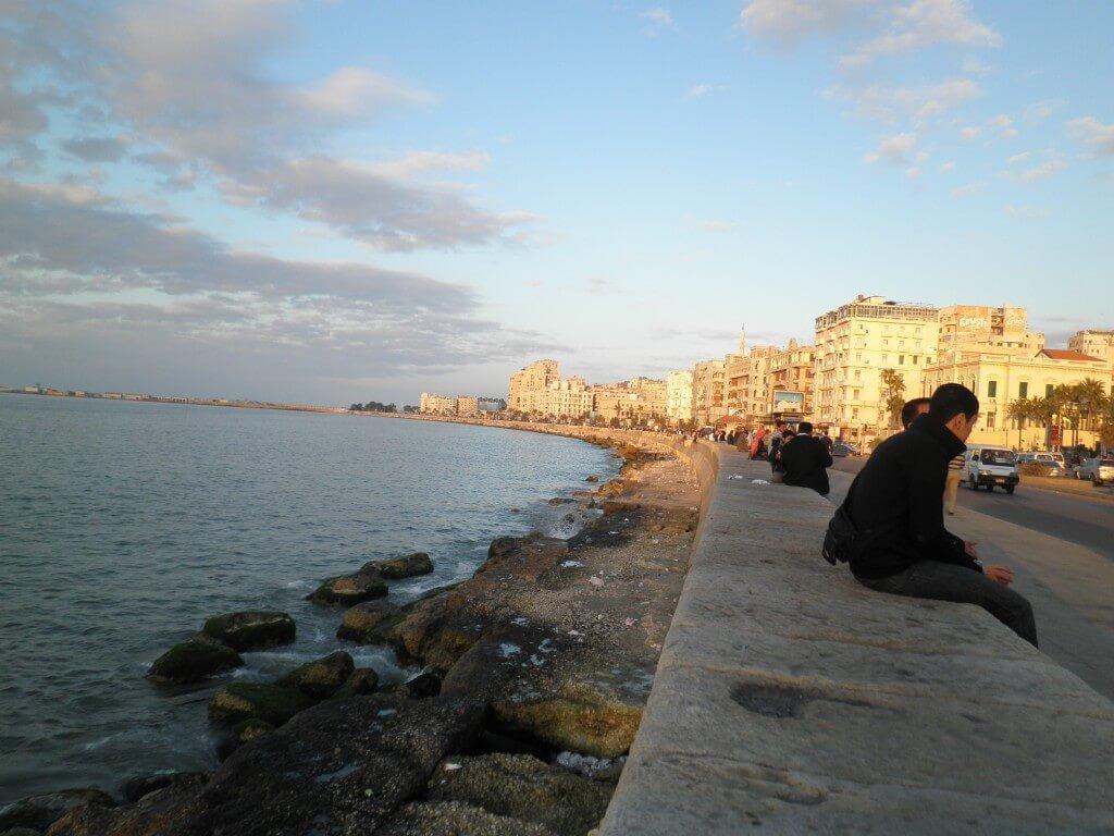 アレクサンドリア 地中海