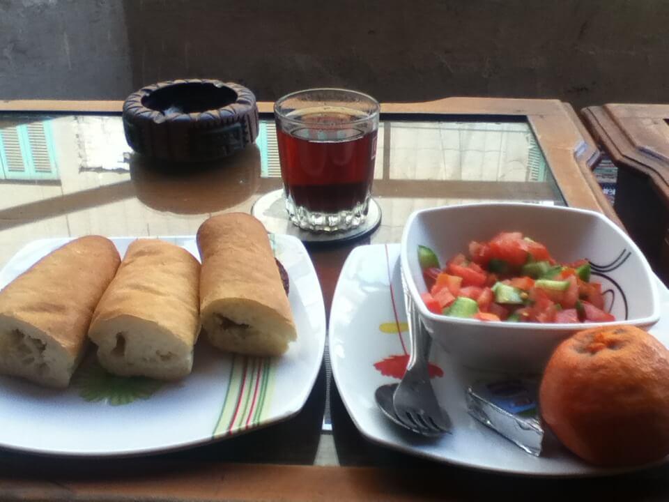 ヴェニス細川家 朝食