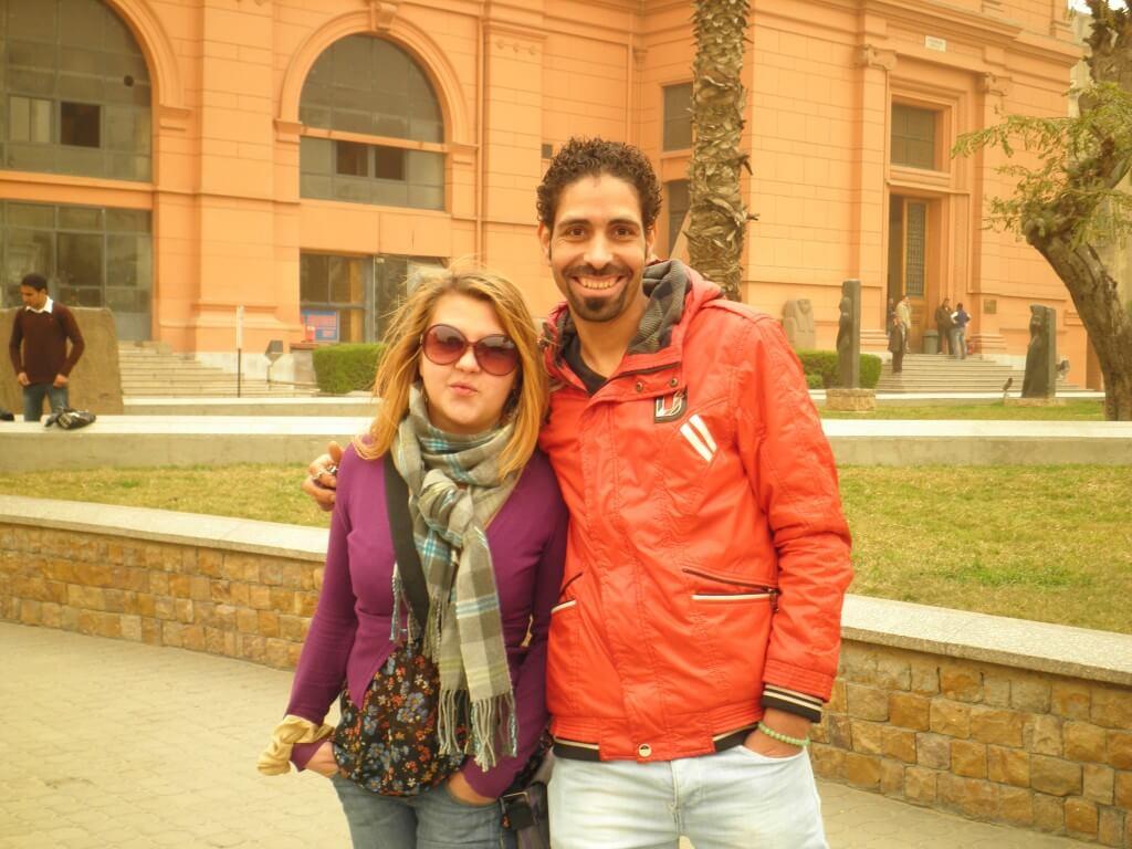 カイロ 考古学博物館 タフリール広場のエジプト人、ロシア人詐欺師