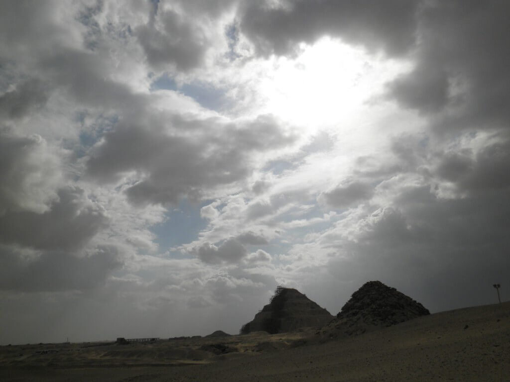 エジプト カイロ ピラミッド群