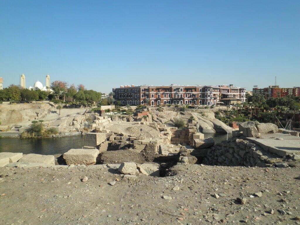 「アスワン博物館」、「ヌビア神殿」 アスワン