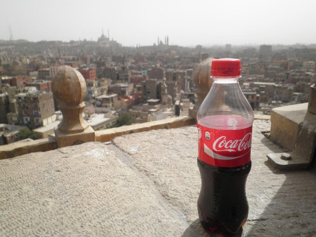 今日のコーラ カイロの街と