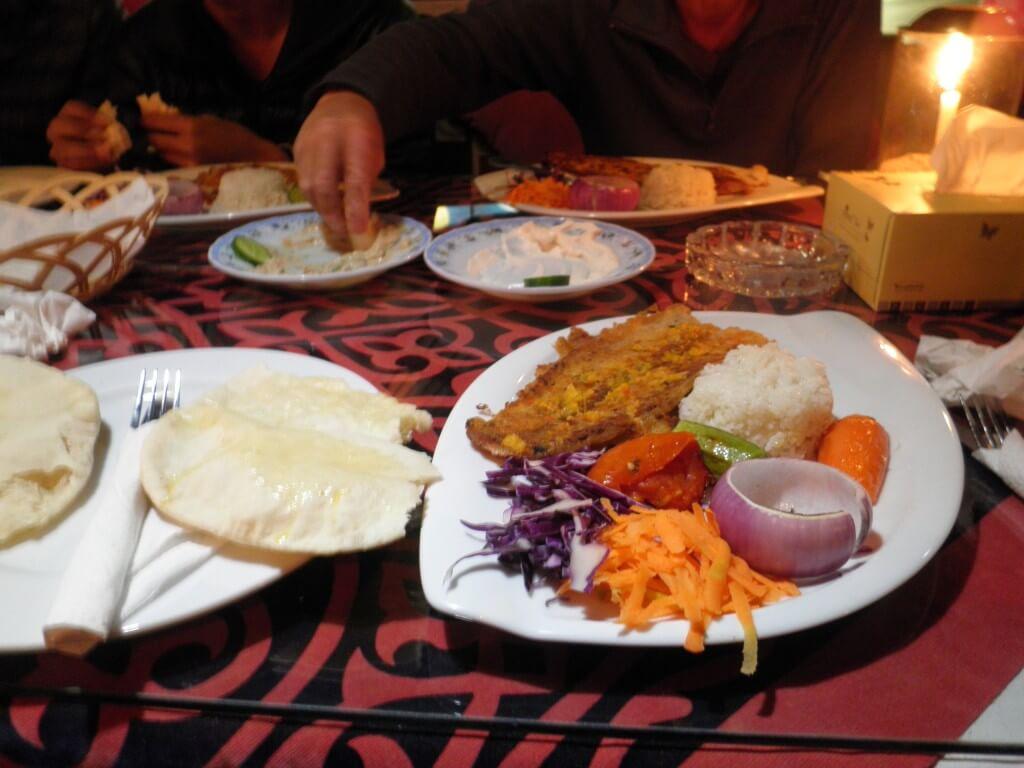 ダハブ レストラン