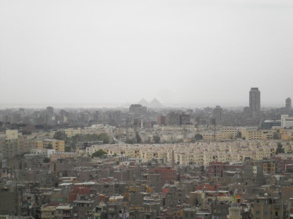 シタデルからピラミッドが見える!?これはオツなものですな♪カイロタワーよりおすすめです!