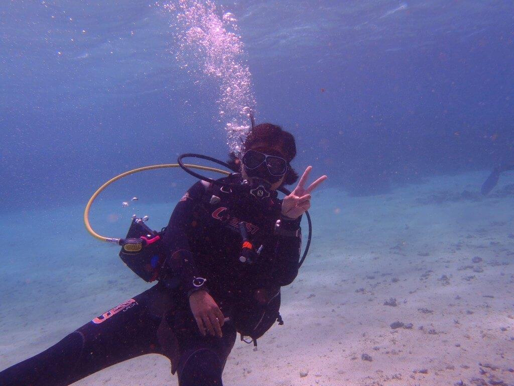 ダハブ エジプト キャニオン ダイビング