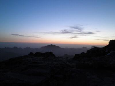 シナイ山 登山 朝日 絶景