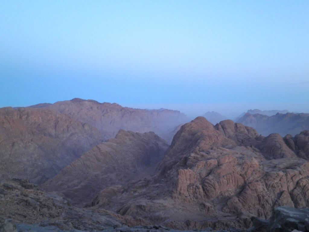 エジプト ダハブ シナイ山 モーゼの十戒