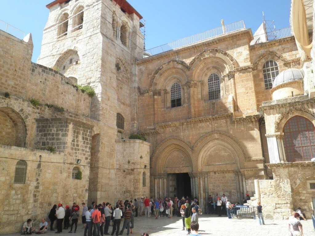 エルサレム キリスト教 ヴィア・ドロローサ 聖墳墓教会