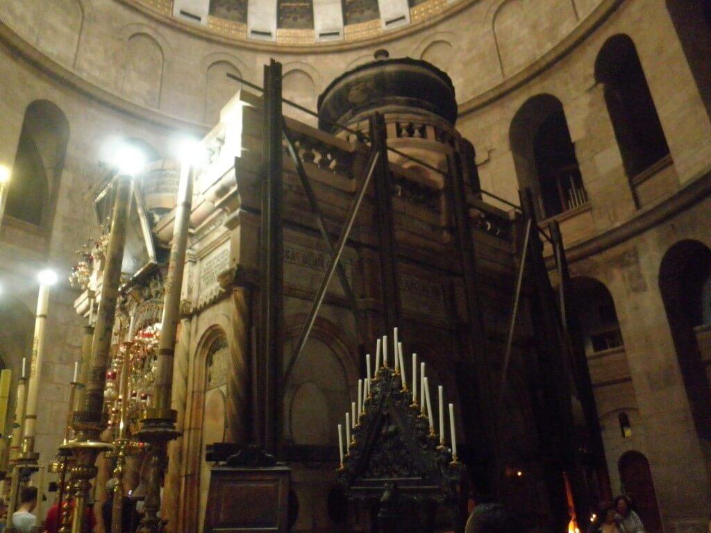 聖墳墓教会 イエス・キリストの墓 エルサレム