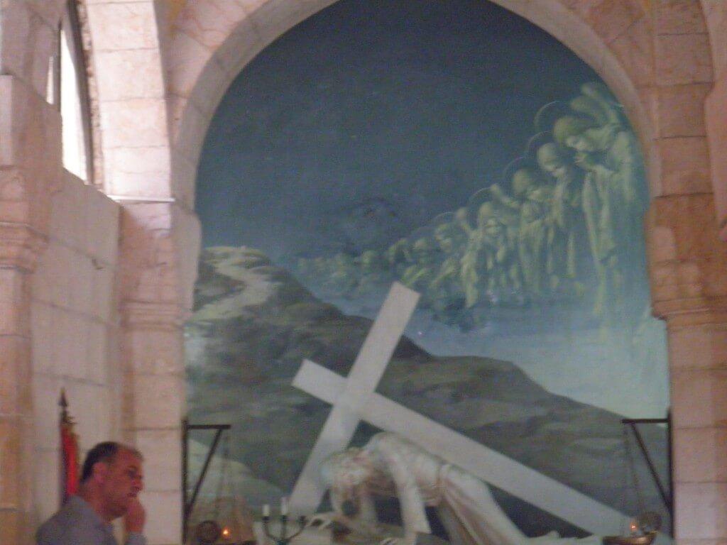 エルサレム キリスト教 ヴィア・ドロローサ 躓いた場所