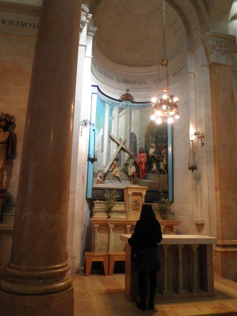 エルサレム キリスト教 ヴィア・ドロローサ むち打ちの場所