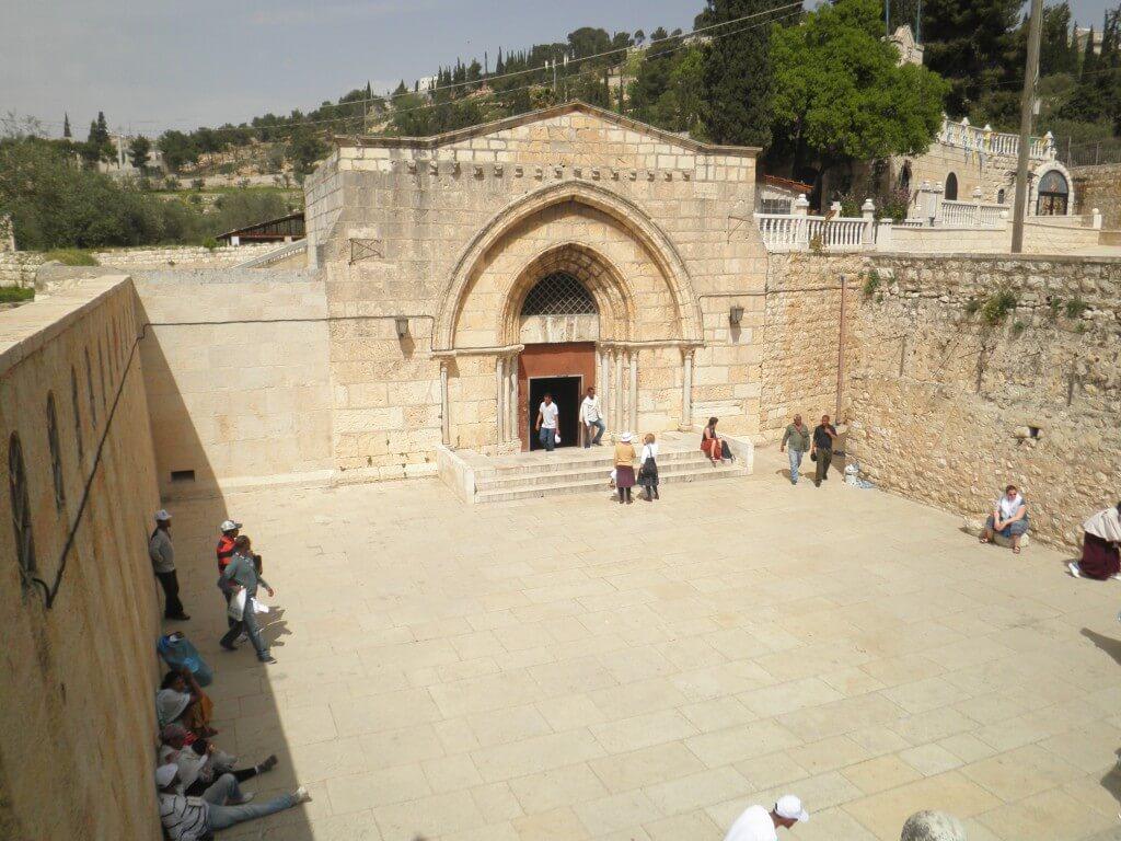 エルサレム マリア様のお墓の教会