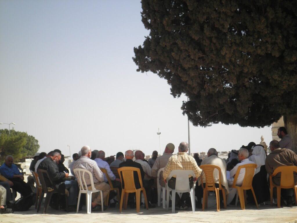 エルサレム 岩のドーム 公園 ムハマンド