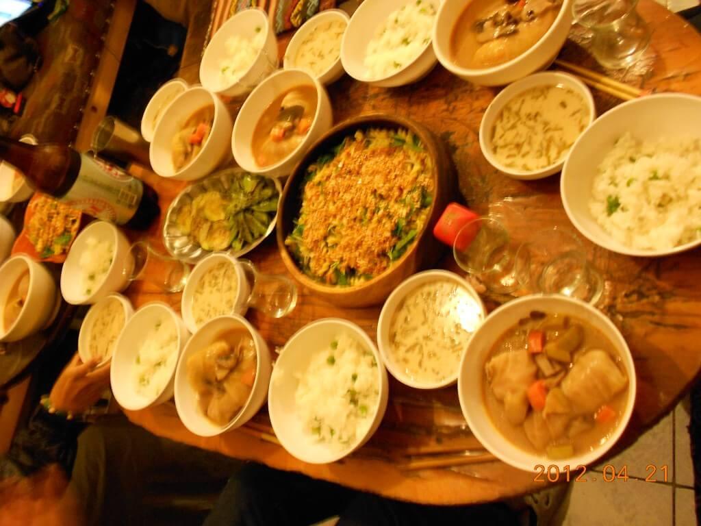 ツリーオブライフはただの日本人宿ではない!なんと言っても魅力は管理人&旅人が創るクオリティー高いシェア飯!!
