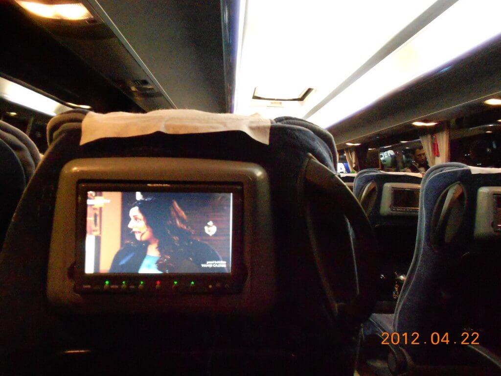 トルコ バス WIFI付き バスアテンダント METRO