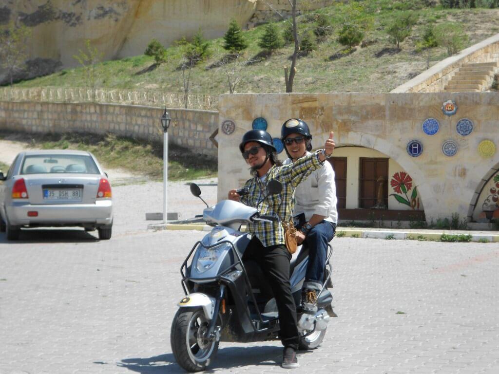 カッパドキア レッドコース レンタルバイク