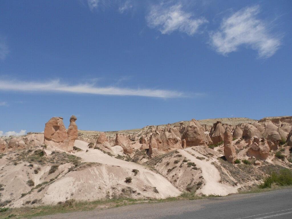 カッパドキア レッドコースの有名なラクダ岩