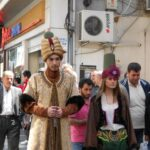 今日の美女 トラブゾンのパレードのトルコの女の子