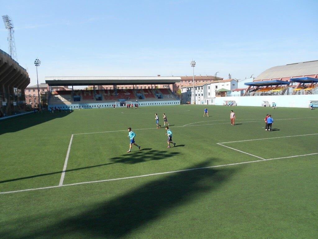 トラブゾンスポルティング ホームグランド 練習風景