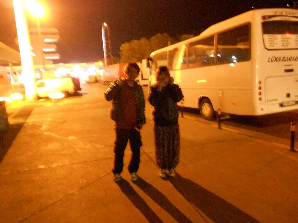 トラブゾンからグルジアへの行き方 バス