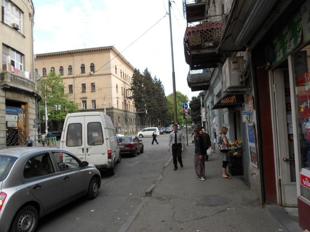 グルジア トビリシ 街並み