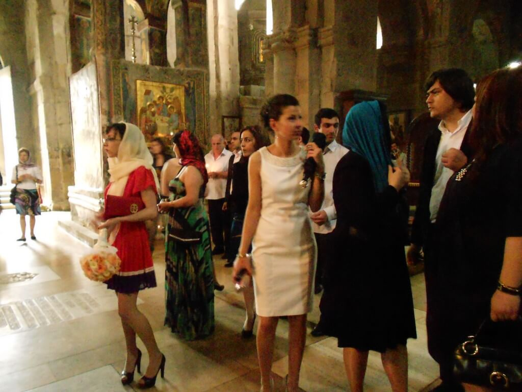 スヴェティ・ツホヴェリ大聖堂 グルジア ムツヘタ 結婚式