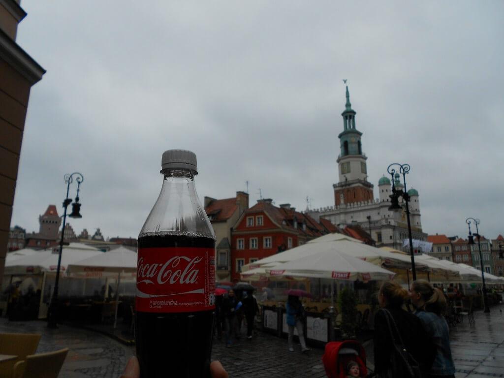 今日のコーラ 聖ヨハネ祭のポズナンの街並み!