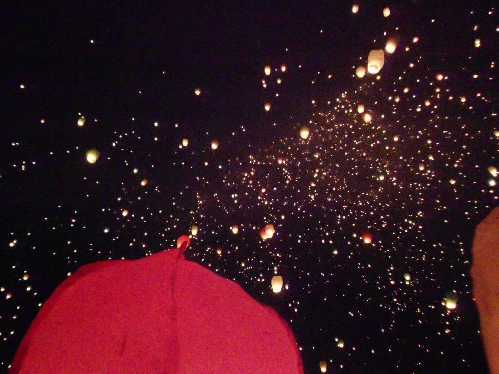 ポズナン 聖ヨハネ祭 スカイランタン(ローイクラトン) 2012/6/22