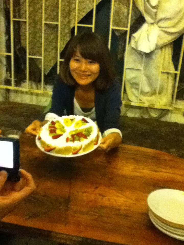 ツリーオブライフ 誕生日 手作りケーキ トルコ イスタンブール