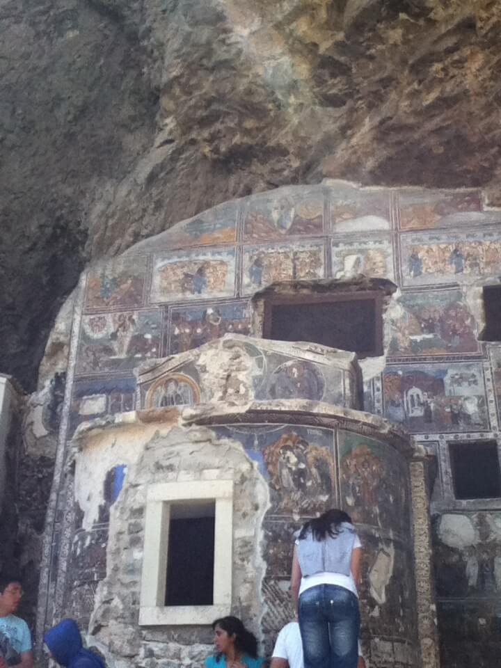 トラブゾン スメラ僧院 フレスコ画